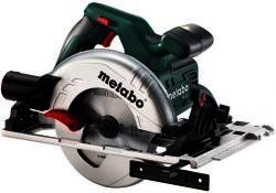 Ручная циркулярная дисковая пила Metabo KS 55 FS; 1200 Вт; 160x20 мм; рез-55/39 мм; 5600 об/мин; 4 кг