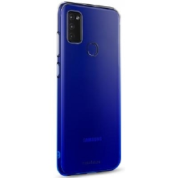 Чехол для моб. телефона MakeFuture Samsung M51 Gradient (Clear TPU) Blue (MCG-SM51BL)
