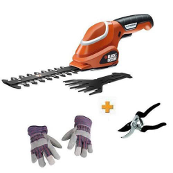 Кусторез-ножницы аккумуляторные Black&Decker GSL700KIT