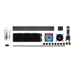 Набор для сборки CBO ThermalTake Pacific CL360 Max/CL360mm/Hard Tube/pure clear coolant (CL-W259-CU00SW-A)