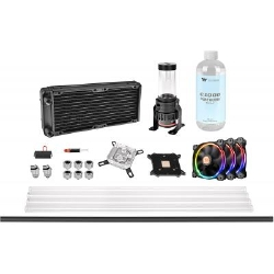 Набор для сборки CBO ThermalTake Pacific M240,R 240mm/Hard Tube/pure clear coolant (CL-W216-CU00SW-A)